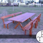 imagen mesa exterior madera