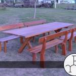 imagen mesas rusticas maciza
